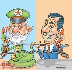 """Polcia: Celular usado por Lula  estava registrado no nome de um """"laranja"""" (revistabarramagazine) Tags: laranja policia telefone grampo policiafederal telefonegrampeado celulargrampeado celularusadoporlula telefonedelaranja"""