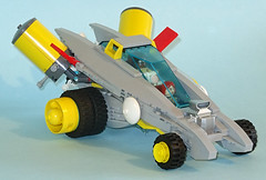 Hypno Cruiser (Librarian-Bot) Tags: lego time cruisers moc revamp