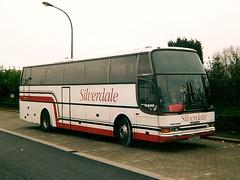 R499 UFP (quicksilver coaches) Tags: london volvo miltonkeynes algarve caetano silverdale northacton b10m r499ufp