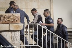 Ha-Shalom court, West Jerusalem, 12.1.2016 (Activestills) Tags: court media jerusalem arrest leftwing occupation politicalprisoners borderpolice westjerusalem orenziv topimages southhebronhills taayushgroup