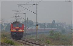 GZB WAP-4 (Abhishek Jog) Tags: from new delhi 8 running junction ap late express ac mins towards charging bhopal dashing bpl mps blazing jn mso ghaziabad gzb 22416 22564 hbj vishakhapatnam ndls wap4 vskp habibganj misrod mandideep mddp bhopaljn ndlsvskp ndlsvishakhapatnam