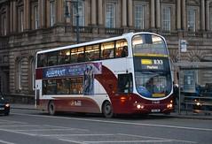 Edinburgh. (Sneeze82) Tags: edinburgh 727 x33 timesaver lothianbuses volvob7tl wrightgemini limitedstop sn55bmz