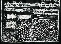 Jodie Flakowicz (julieboothclasses) Tags: pattern seeding frenchknots handstitching pekinesestitch straightstitch lacedrunningstitch handstitchingclass romaniancouching surfacedarning jodieflakowicz patternsampler