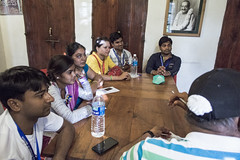 "Group Discussion -""Places of Baba visits"""