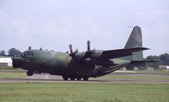 64-0555. United States Air Force Lockheed MC-130E Hercules (Ayronautica) Tags: aviation military july airshow 1991 usaf c130 fairford riat unitedstatesairforce internationalairtattoo egva lockheedmc130ehercules 640555 ayronautica