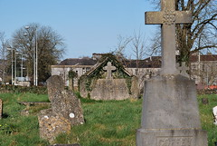 ballinasloe_156 (HomicidalSociopath) Tags: ireland cemetery architecture spring nikon crosses april ballinasloe d60