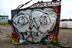 graffiti amsterdam (wojofoto) Tags: holland amsterdam graffiti nederland netherland ndsm hi5 wolfgangjosten wojofoto