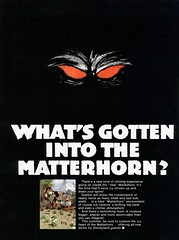Vacationland, Summer 1978 06 - What's Gotten Into the Matterhorn (Tom Simpson) Tags: vintage advertising disneyland ad disney advertisement 1978 matterhorn 1970s vacationland vintagead vintagedisney