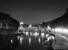 Tevere RIver - Rome (Fabio Gentili Photography) Tags: bw italy vatican rome roma river bn tevere coliseum sanpietro saintpeter