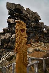 [Explore #183] Easter Island meets Harz (Froschknig Photos) Tags: statue wall easter island 666 explore devil easterisland harz meets mauer felsen teufel teufelsmauer osterinsel devilswall nex5r selp18105g