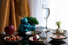 L'Année du Singe (- Ali Rankouhi) Tags: new iran year du tehran ایران singe سال تهران 2016 سمنو 1395 lannée سبزه نو سیب میمون سیر سرکه