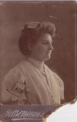 "Eperjes ""908 X/7"" (Ferencdiak) Tags: old portrait woman photo hungary xx rosenblatt 20th 1908 atelier portr hlgy n mterem eperjes"