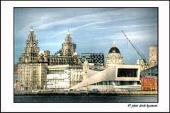 WATERFRONT (Derek Hyamson) Tags: ferry liverpool waterfront hdr mersey