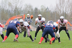 20160403_Avalanches Annecy Vs Falcons Bron (24 sur 51) (calace74) Tags: france annecy sport foot division falcons bron amricain avalanches rgional