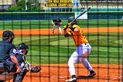 Owls vs Bison (BDM17) Tags: game ga ball georgia university tn nashville state baseball tennessee bat cobb davidson kennesaw lipscomb