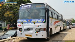 KSRTC KL-15-A-225 From Bangalore to Guruvayur (Dhiwakhar) Tags: kesrtc