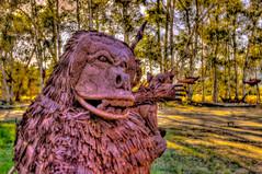 Monkey Sculpture (Michael F. Nyiri) Tags: california sculpture art desert anzaborrego southerncalifornia metalsculpture temeculacalifornia ricardobreceda