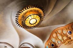 Casa Batllo (amoeboid) Tags: barcelona door lamp casa spain gaudi casabatllo batllo canon1022mm canon60d