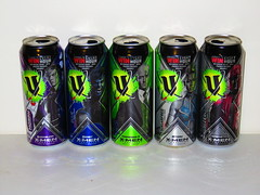 V Energy - Five Specially Marked Limited Edition Cans to Collect! (RS 1990) Tags: storm drink apocalypse quicksilver xmen beast soda cans marvel promotional magneto professorx 2016 venergy