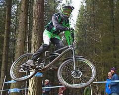 02 MTB SCDH 16 Apr 2016 (17) (Kate Mate 111) Tags: uk mountain bike forest cycling crash sheffield yorkshire steve competition racing downhill peat riding mtb mountainbiking grenoside