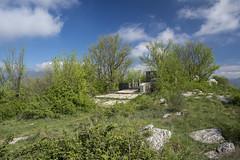 Malaparte Mausoleum (marco.pulidori) Tags: italy clouds spring memorial tomb le tuscany prato mausoleo coste spazzavento