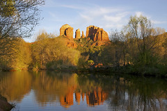 Cathedral Rock reflection (Omnitrigger) Tags: arizona sedona cathedralrock