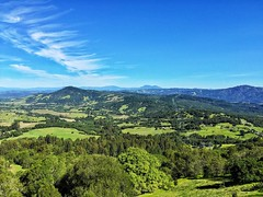 Bennett Valley Overlook (harminder dhesi photography) Tags: california park trees sky mountains green nature clouds landscape outdoors view hiking sonoma hills valley bayarea vista sonomacounty norcal santarosa overlook s3 winecountry vsco iphoneography snapseed vscocam