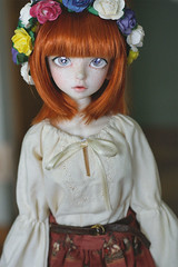 Primrose (Ise-Bandit) Tags: ball asian kid doll bjd 12 resin dollfie luts delf abjd joint primrose wintery kdf wintery12