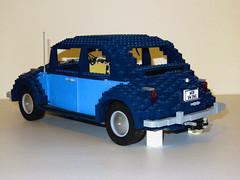 10187 Volkswagen Beetle (RS 1990) Tags: car volkswagen model lego charlotte beetle april creator 2016 10187