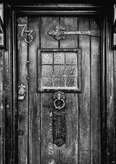 No 73 (TD2112) Tags: door wood old vintage medieval hastings 700d townsussexwindowletterboxmonocanoncanon