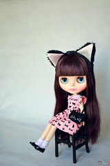 Lady Camellia (Echo (EchoForDolls)) Tags: cat shoes doll ears blythe licca ladycamellia