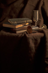 Still life with books and cups (eleonora.guidi) Tags: stilllife experiment books stillife naturamorta