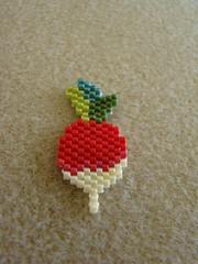 Veggie (Lea et le chat Malo) Tags: beads miyuki beading delicas