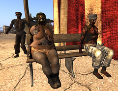 It's Ghoulish Day!16-syruss, ccindy, NeoBokrug (grady.echegaray) Tags: avatar secondlife movies psychedelic zombies yellowsubmarine thebeatles postapocalyptic ghouls digitalfashion redfestival tentrevival virtualfashion