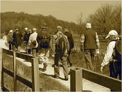 Day 116 Rambling in sepia (Dominic@Caterham) Tags: sepia walkers ramblers