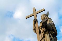 Catania - Agata (valerologan) Tags: santa cielo sicily statua catania sicilia agata santagata