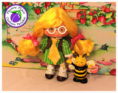 Custom_T_N_Honey_Doll_35 (Plum's Place) Tags: tn tea ooak honey strawberryshortcake shortcake vintagetoys ooakdoll retrotoys 80stoy teaandhoney plumsplacecustoms
