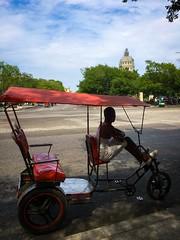 Havana. Cuba (H.L.Tam) Tags: street havana cuba documentary sketchbook driver cuban iphone bicycletaxi habanavieja photodocumentary iphone6s harbana capitolionaciona bicycleincuba