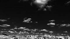 citadel (Rodrigo Alceu Dispor) Tags: city sky bw cloud citadel