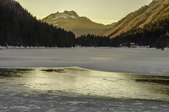 Erik Harstrom-Winter 2016-71 (Erik Harstrm) Tags: sunset mountain lake france lac reflect fr dcembre hautesavoie 2015 rhnealpes montriond erikharstrm