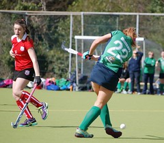 Kelly clearing her lines from center back (Greenfields Hockey Club) Tags: hockey cork connacht quins harlequins greenfields dangan ihl irishhockeyleague greenfieldshockeyclub irishhockey connachthockey hockeygalway corkharlequins