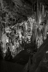 Luray Caverns 006 (frntprchprss) Tags: blackandwhite cave stalagmite stalagtite cavern luraycaverns jamesgehrt