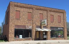 Old Hotel (Sargent, Nebraska) (courthouselover) Tags: nebraska ne hotels sargent sandhills greatplains custercounty