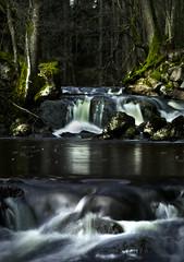 waterfallmoss (dovlindphoto) Tags: longexposure trees lake nature river landscape flow waterfall moss stream pentax sweden stones ml dovlind dovlindphoto