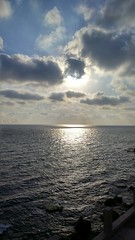 Sea (nesreensahi) Tags: sunset sea sun nature landscape syria siria  syrie latakia