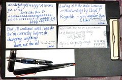 16.05.01_all (Heather Kelly Glass) Tags: ink writing indigo fountainpen cartridge italic 19mm diamine lamyjoy lamyblue lloydjreynolds twsbieco diamineindigo