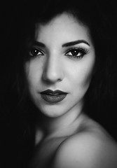 Luana (Caterina Zito) Tags: portrait blackandwhite film monochrome beauty fashion monocromo donna mood bn persone d750 ritratto biancoenero ragazza vsco vscocam