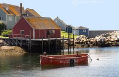 Peggys Cove 2 (moelynphotos) Tags: canada harbor novascotia peggyscove quaint fishingvillage redboat touristdestination moelynphotos redlobstershanty