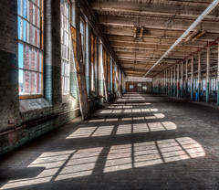 Long View - Flip Side (lclower19) Tags: windows lawrence massachusetts posts hdr everettmill