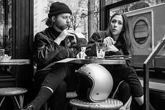 (Tom Plevnik) Tags: street city people urban blackandwhite paris public monochrome photography flickr outdoor candid places human fujifilm bnw xpro1